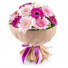 Bouquet with Gerberas N2