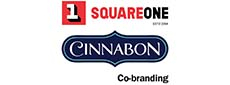 Square One and Cinnabon Co Branding